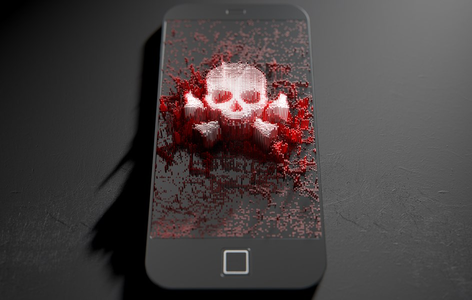 SMishing and Vishing mobile security threats - zoom image